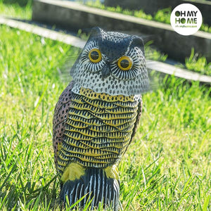 Oh My Home Rotating Head Garden Owl-Universal Store London™