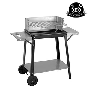 BBQ Classics Wheeled Charcoal Barbecue with Trays-Universal Store London™