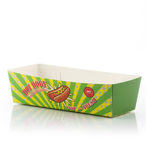 Image of BBQ Classics Set of Hotdog Boxes (Pack of 8)-Universal Store London™