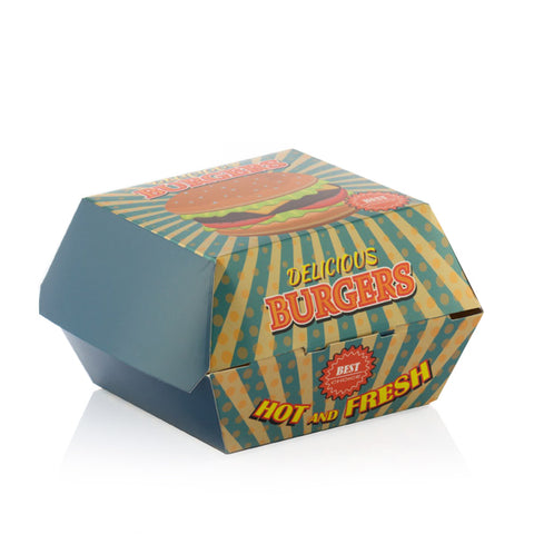 Image of BBQ Classics Set of Burger Boxes (Pack of 8)-Universal Store London™