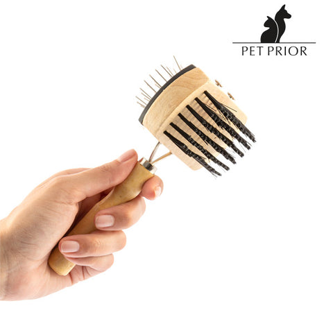 Collection Pet Prior Set of Dog Brushes (3 Pieces)-Universal Store London™