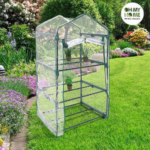 Oh My Home Greenhouse with Shelves-Universal Store London™