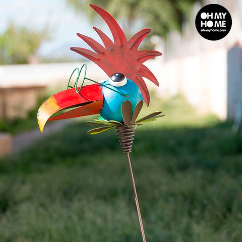 Metal Decorative Bird for Gardens-Universal Store London™