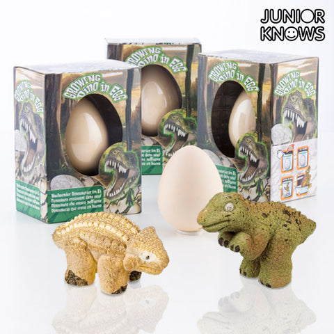 Junior Knows Egg with Little Dinosaur-Universal Store London™