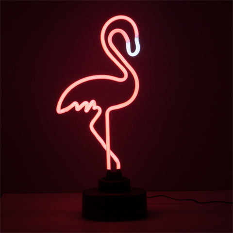 Flamenco Wagon Trend 6W flamingo neon lamp-Universal Store London™