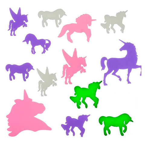 Image of Junior Knows Fluorescent Unicorns (14 pieces)-Universal Store London™