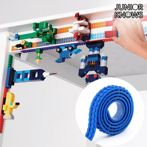 Magic Junior Knows Blue Adhesive Building Tape-Universal Store London™