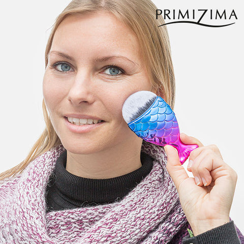 Image of Primizima Mermaid's Tail Make-up Brush-Universal Store London™
