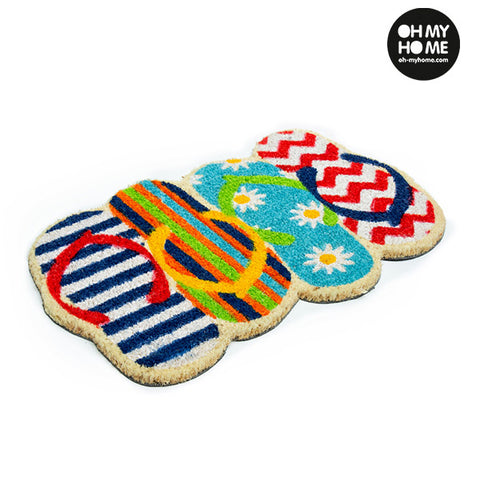 Image of Oh My Home Flip-flop Doormat-Universal Store London™