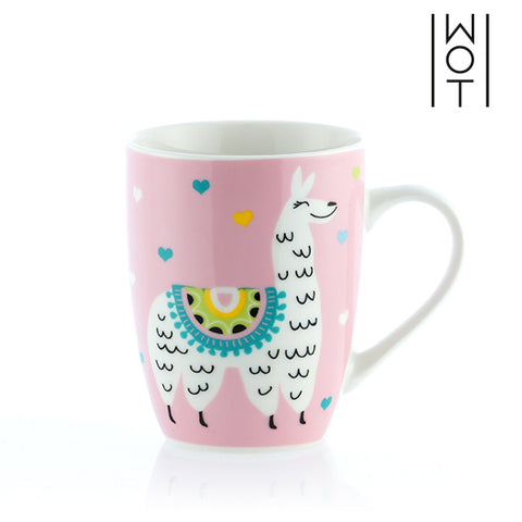 Image of Wagon Trend Llama Mug-Universal Store London™