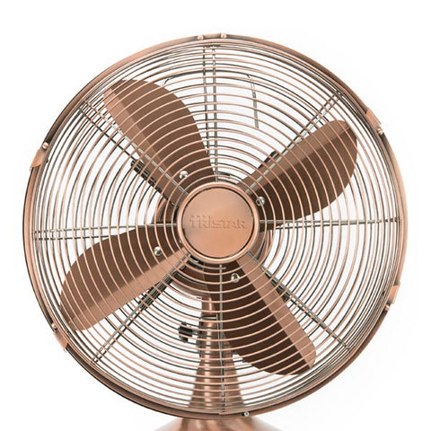 Tristar VE5970 35W Retro Copper Desktop Fan-Universal Store London™
