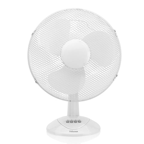 Image of Tristar VE5978 50W White Desk Fan-Universal Store London™