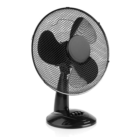 Tristar VE-5979 50W Black Desk Fan-Universal Store London™