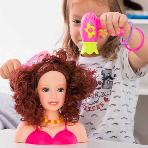 Image of Doll for Hairstyling with Accessories-Universal Store London™