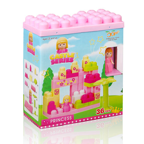 Castle Building Blocks Set (36 pieces)-Universal Store London™