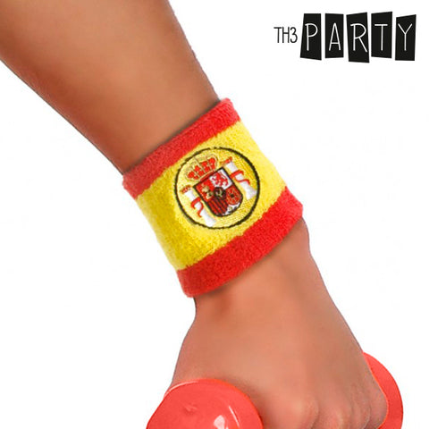 Th3 Party Spanish Flag Wristband-Universal Store London™