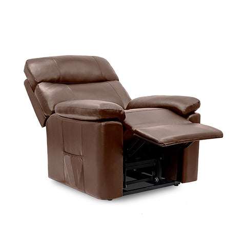 Brown Massaging Lift Chair Recliner Cecorelax 6120-Universal Store London™