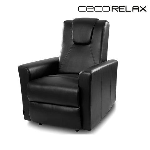 Black Massaging Easy Chair Cecorelax 6151-Universal Store London™