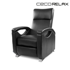 Cecorelax 6027 Black Push Back Relax Massage Chair-Universal Store London™