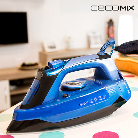 Image of Cecoclean Titanium 620 5036 0.42 L 200 G/MIN 3000W Steam Iron-Universal Store London™