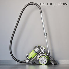 Cecoclean 5017 Multi Cyclonic Hoover 3.5 L 850W Grey Green-Universal Store London™
