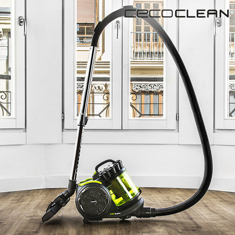 Image of Cecoclean Powerciclonic 5024 Cyclonic Hoover 2 L 800W Green Black-Universal Store London™