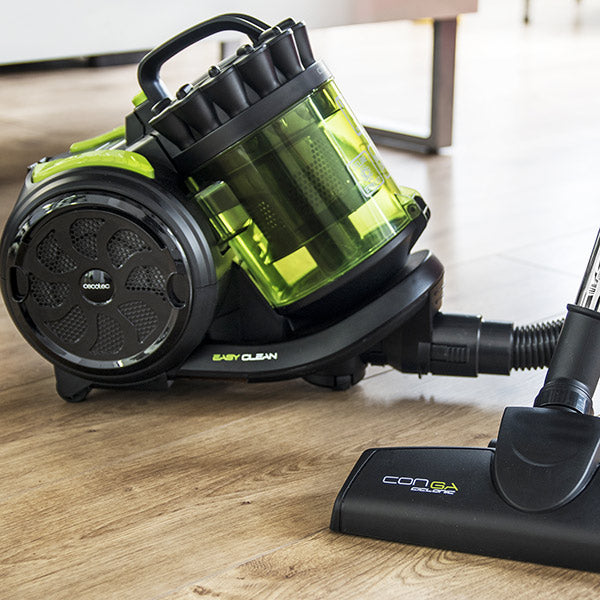 Cecoclean Powerciclonic 5024 Cyclonic Hoover 2 L 800W Green Black-Universal Store London™