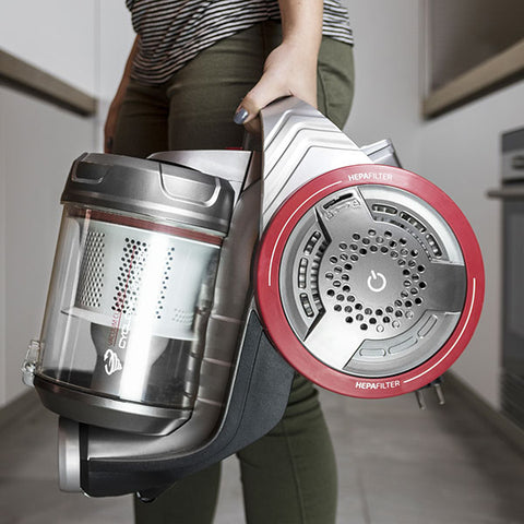 Cecoclean Eco Extreme 3000 5068 3.5 L 700W Grey Red Multi-cyclone Vacuum Cleaner-Universal Store London™