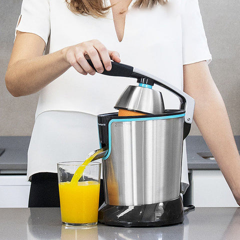 Cecotec Adjust Black 4077 Steel Electric Juicer with Handle 160W-Universal Store London™
