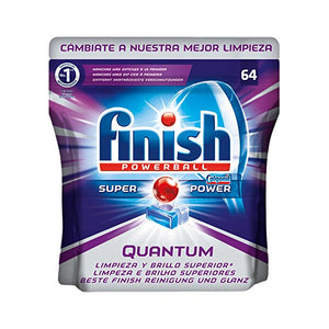 Finish Quantum Dishwasher Tablets (64 pcs)-Universal Store London™