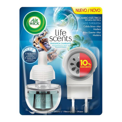 Air Wick Life Scents Turquoise Oasis Electric Air Freshener-Universal Store London™