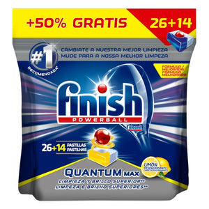 Finish Quantum Lemon Dishwasher Tablets (40 Washes)-Universal Store London™