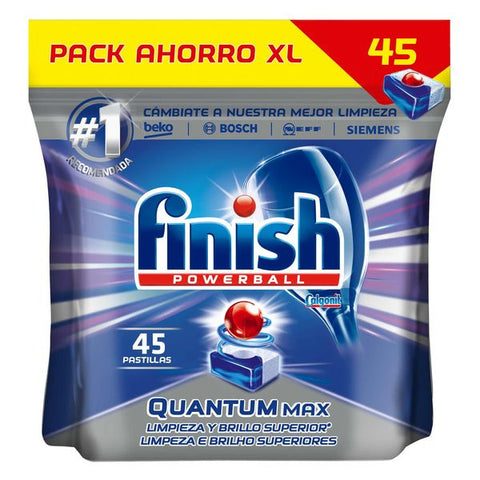Finish Quantum Regular Dishwasher Tablets (45 Washes)-Universal Store London™