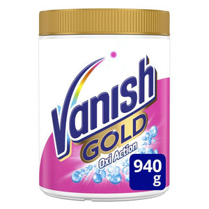 Vanish Oxi Gold White Powder Stain Remover 940 g-Universal Store London™
