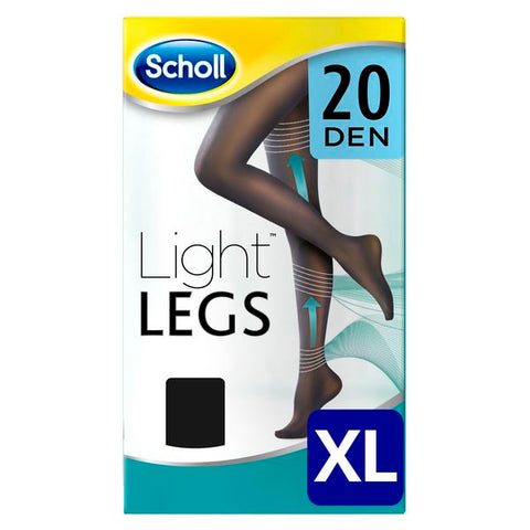 Dr Scholl Light Compression Stockings Black 20 Den - XL-Universal Store London™