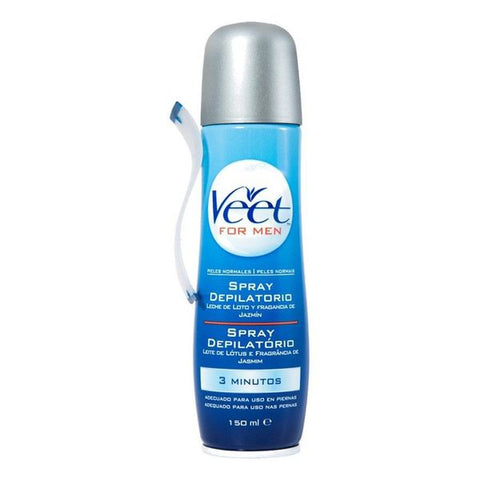 Veet Normal Skin Hair Removal Spray for Men 150 ML-Universal Store London™