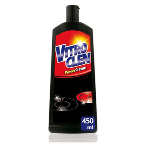 Vitroclean VitroCeramic Cooker Cleaning Cream 3 in 1 450 ml-Universal Store London™