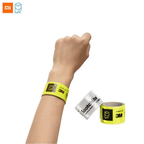 Image of Xiaomi 3M Scotchlite High Visibility Reflective Wristband Self Tightening Band-Universal Store London™