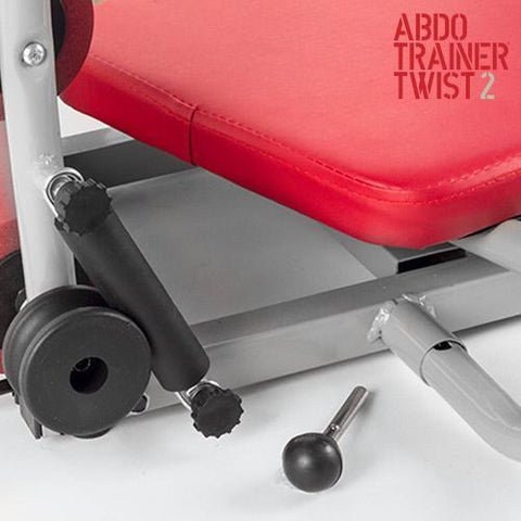 ABDO Trainer Twist Sit Up Bench with Chest Expanders-Universal Store London™