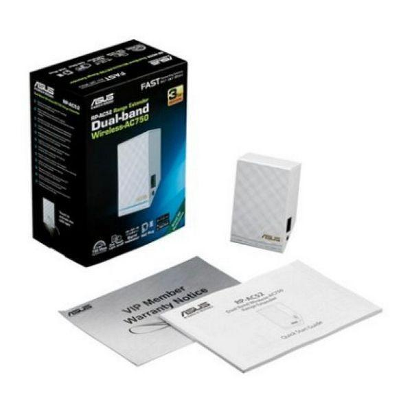 Access Point Repeater Asus 90IG00T0-BM0N0 AC750 10 / 100 Mbps 2,4 GHz -5 GHz-Universal Store London™