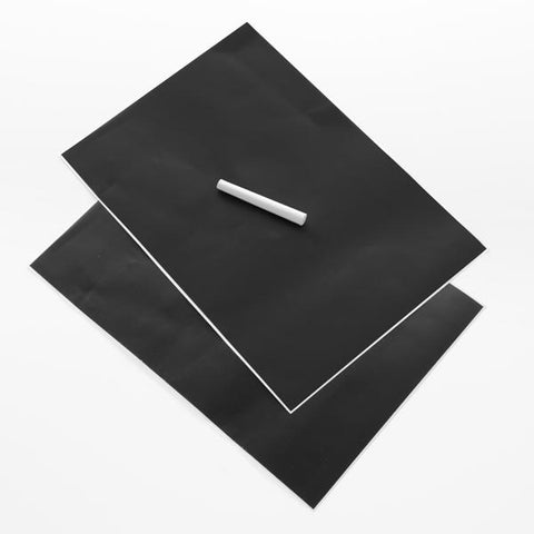 Image of Adhesive Blackboard (pack of 2)-Universal Store London™