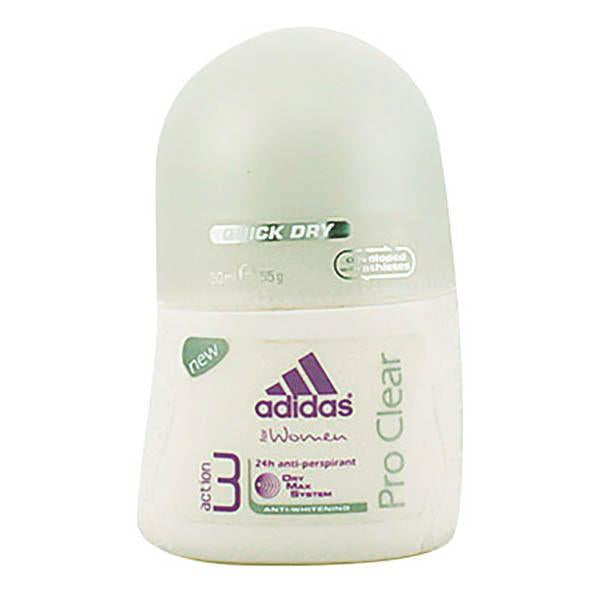 Adidas - ADIDAS WOMAN PRO CLEAR deo roll-on 50 ml-Universal Store London™