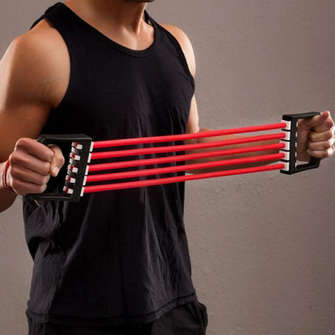 Image of Adjustable Chest Expanders for Fitness-Universal Store London™