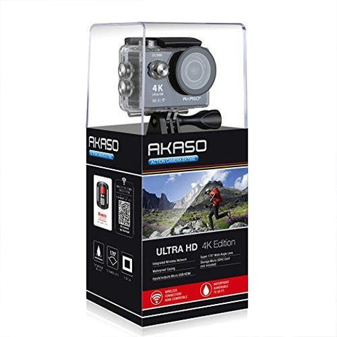 Image of AKASO EK7000 4K Sport Action Camera Ultra HD Camcorder-Universal Store London™