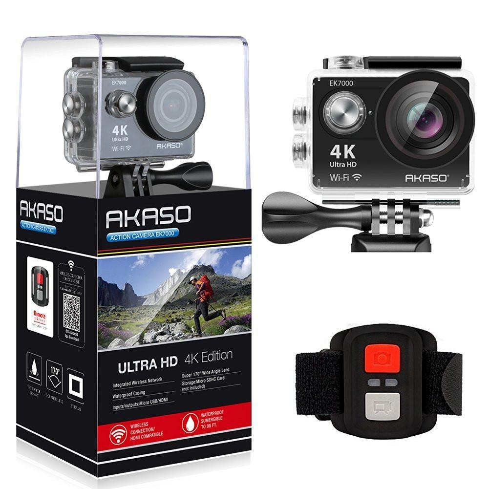 AKASO EK7000 4K Sport Action Camera Ultra HD Camcorder-Universal Store London™