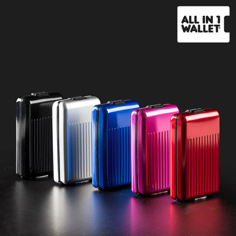 Image of All in 1 Aluminium Wallet-Universal Store London™