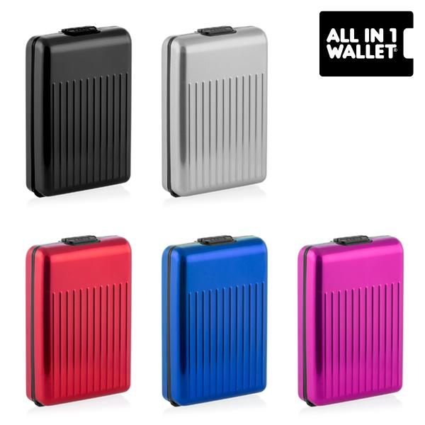 All in 1 Aluminium Wallet-Universal Store London™