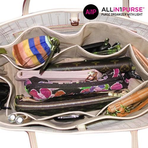 All in 1 Purse Handbag Organiser with Light-Universal Store London™