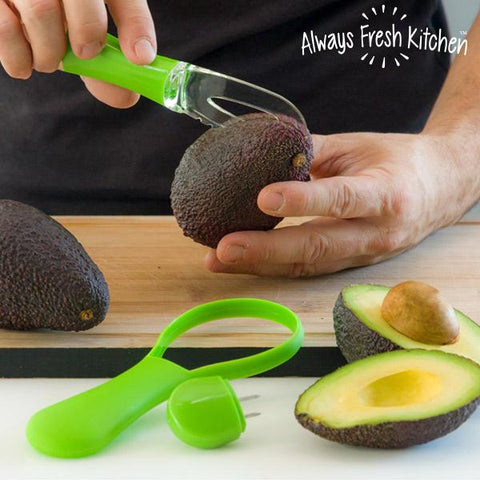 All in One Avocadore Avocado Cutter and Peeler-Universal Store London™