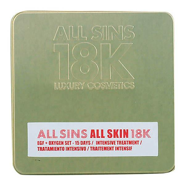 All Sins 18k - ALL SKIN EFG + OXYGEN 15 DAYS INTENSIVE TREATMENT LOTE 2 pz-Universal Store London™